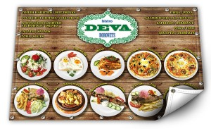 Отпечатване на винил - ресторант Дева - Боровец