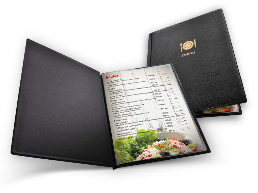 Отпечатване на менюта Пазарджик - ресторант Перфект